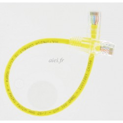 CORDON SUR MESURE CAT5NBL JAUNE